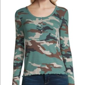 Long Sleeved Camouflage Shirt